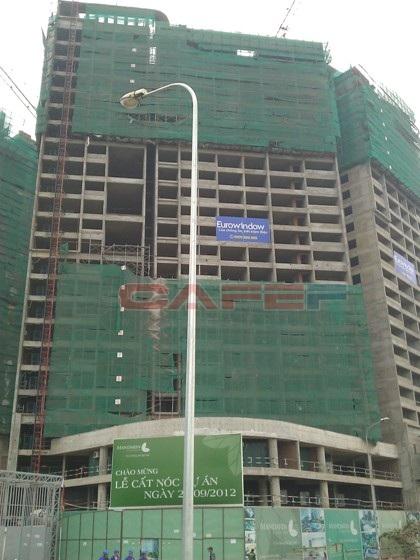Tiến độ hàng loạt dự án dọc trục Lê Văn Lương (21)