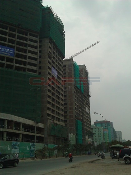 Tiến độ hàng loạt dự án dọc trục Lê Văn Lương (20)
