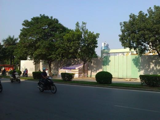 Tiến độ hàng loạt dự án khu Giảng Võ, Ba Đình (3)