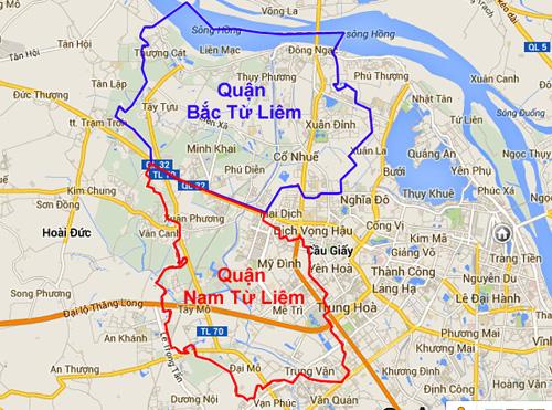 UBND Hà Nội yêu cầu sớm tổ chức bộ máy, nhân sự cho 2 quận mới (1)