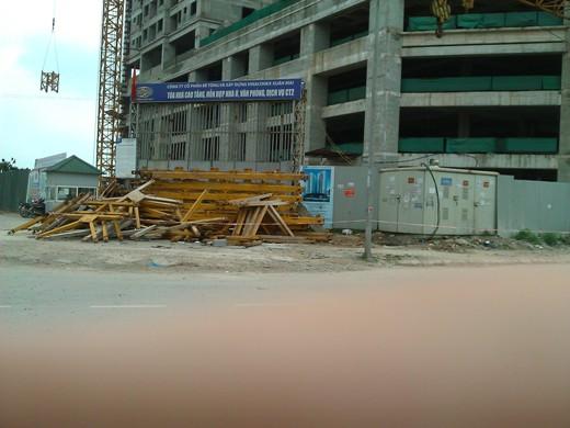 Tiến độ hàng loạt dự án có giá dưới 18 triệu đồng/m2 khu vực Hà Đông (12)