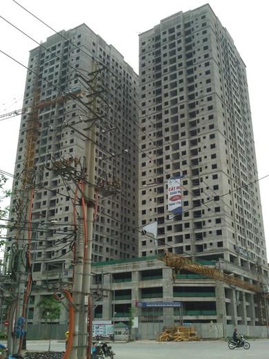 Tiến độ hàng loạt dự án có giá dưới 18 triệu đồng/m2 khu vực Hà Đông (14)