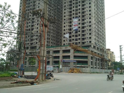 Tiến độ hàng loạt dự án có giá dưới 18 triệu đồng/m2 khu vực Hà Đông (15)