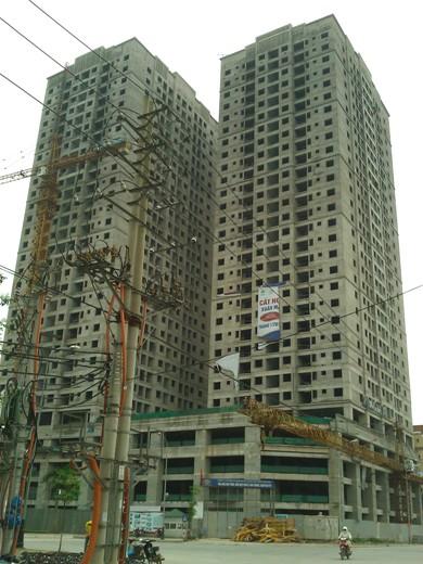 Tiến độ hàng loạt dự án có giá dưới 18 triệu đồng/m2 khu vực Hà Đông (17)
