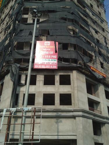 Tiến độ hàng loạt dự án chung cư giá rẻ tại Hà Đông (9)