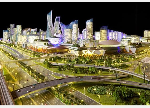 Cận cảnh TTTM lớn nhất thế giới vừa được khởi công tại Dubai (1)