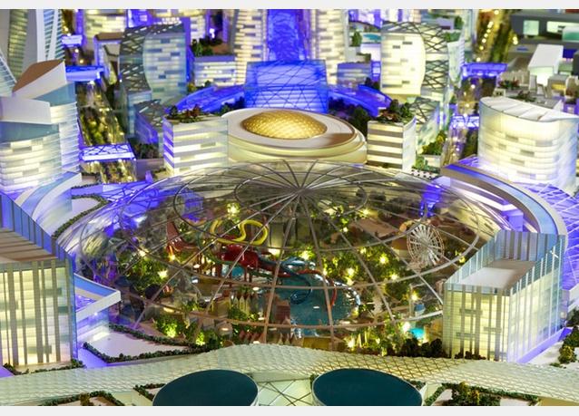 Cận cảnh TTTM lớn nhất thế giới vừa được khởi công tại Dubai (2)