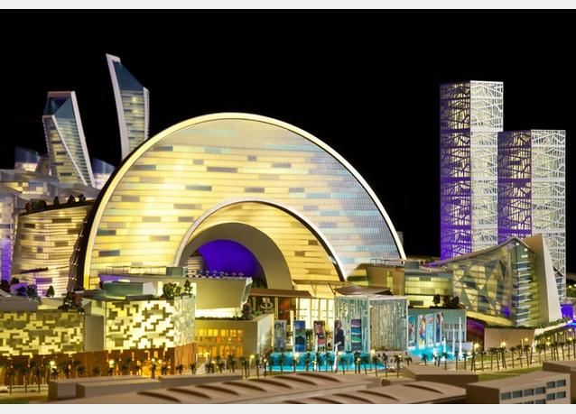 Cận cảnh TTTM lớn nhất thế giới vừa được khởi công tại Dubai (3)