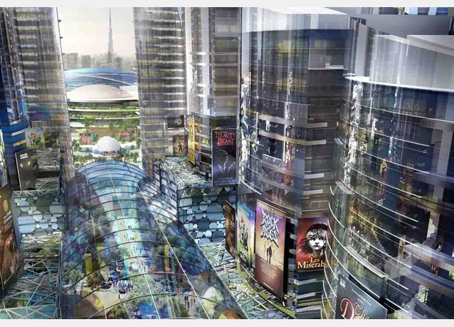 Cận cảnh TTTM lớn nhất thế giới vừa được khởi công tại Dubai (4)