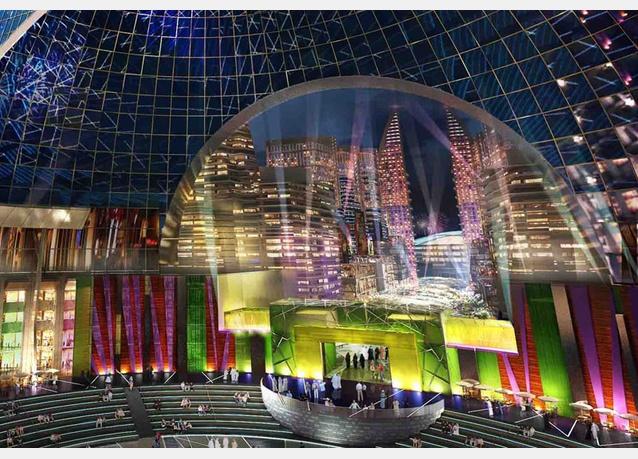Cận cảnh TTTM lớn nhất thế giới vừa được khởi công tại Dubai (6)
