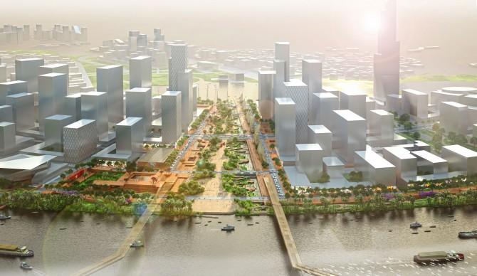 Ảnh nóng về quảng trường 2.000 tỷ lớn nhất Việt Nam (4)