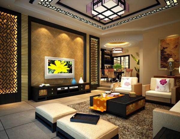 Phong Khach Nho Sang Trong Phòng Khách Nhiều ánh Sáng Có