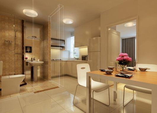 Cách hóa giải phong thủy xấu cho nhà vệ sinh trong căn hộ chung cư (2)