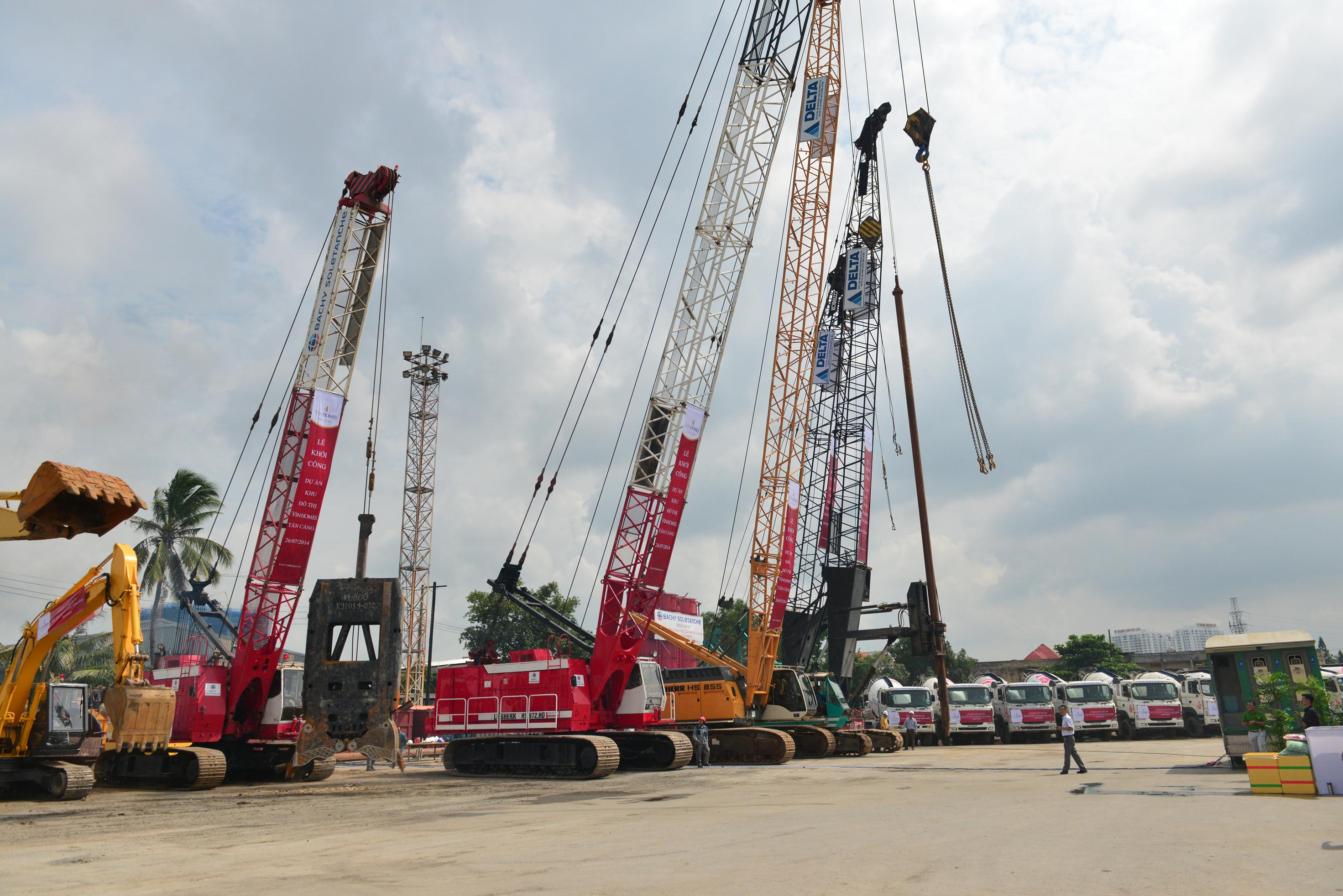Vingroup khởi công khu đô thị lớn Vinhomes Tân Cảng, vốn đầu tư 30.000 tỷ (1)