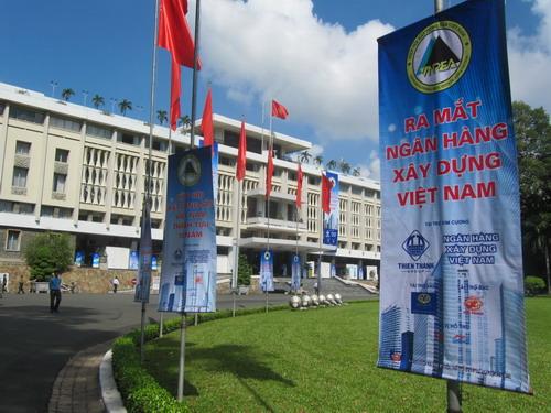 Chính thức ra mắt Ngân hàng Xây dựng Việt Nam (1)