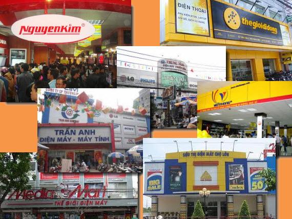 Thị trường điện tử - điện máy: Cuộc chơi của Nguyễn Kim và Thế giới di động