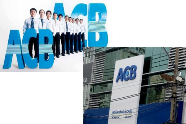 Ngân hàng Á Châu và nhận diện thương hiệu cũ (trái) và mới (phải) đang thử nghiệm