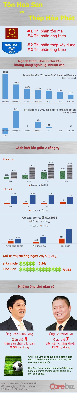 Tôn Hoa Sen vs. Thép Hòa Phát (1)