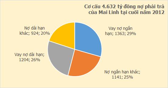 Taxi Mai Linh: Năm 2012 tiếp tục oằn lưng trả nợ, kéo dài chuỗi ngày thua lỗ (2)