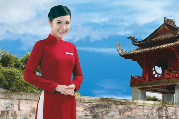 Tiếp viên của Vietnam Airlines