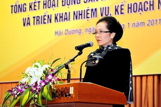 Bà Lê Thị Thúy Ngà