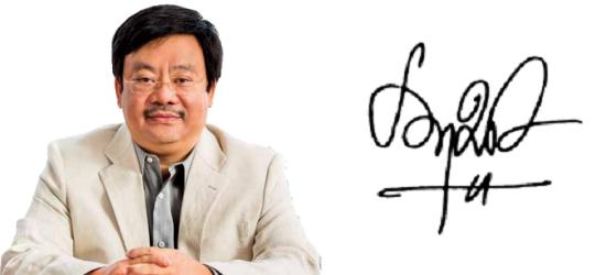 Những người giàu nhất Việt Nam ký tên như thế nào? (5)