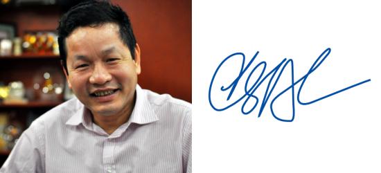 Những người giàu nhất Việt Nam ký tên như thế nào? (7)