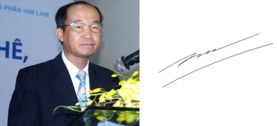 Những người giàu nhất Việt Nam ký tên như thế nào? (9)