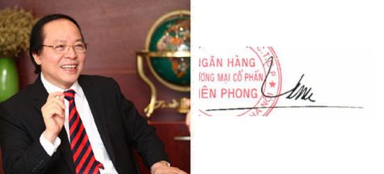 Những người giàu nhất Việt Nam ký tên như thế nào? (10)