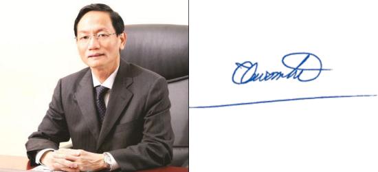 Những người giàu nhất Việt Nam ký tên như thế nào? (11)
