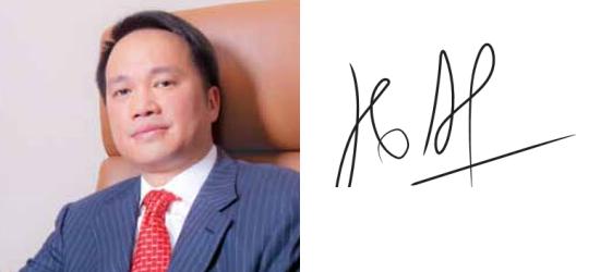 Những người giàu nhất Việt Nam ký tên như thế nào? (6)