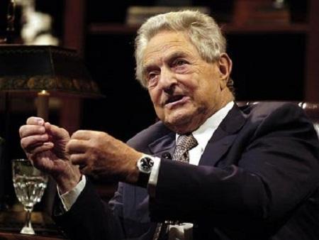 """""""Tỷ phú của những tỷ phú"""", ông trùm George Soros"""