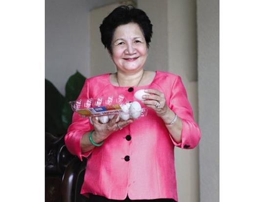 Bà Phạm Thị Huân - Giám đốc Công ty TNHH Ba Huân - Ảnh: Công Toại