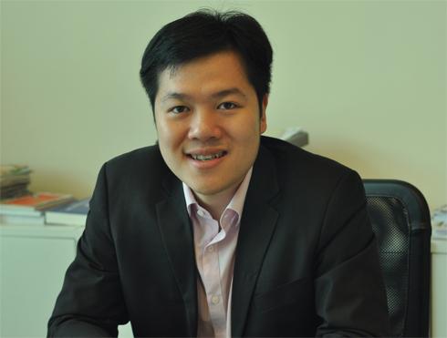 Tổng giám đốc Công ty Chứng khoán VNDirect Nguyễn Hoàng Giang. Ảnh: Anh Quân