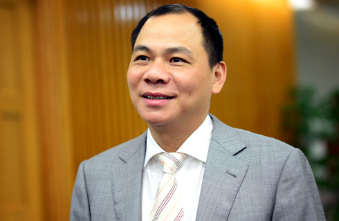 Ông Phạm Nhật Vượng trở thành tỷ phú USD đầu tiên của Việt Nam. Ảnh: Anh Tuấn