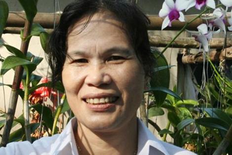 Bà Hồ Thị Thu.