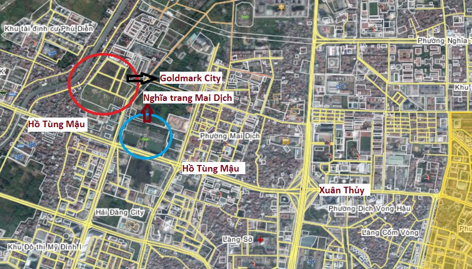Dự án Castle Plaza đổi tên thành Goldmark City sau hơn 3 năm chậm tiến độ (1)