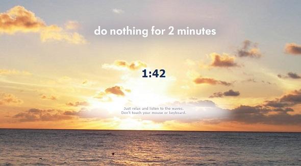 Những website giúp bạn thư giãn chỉ trong 2 phút (2)