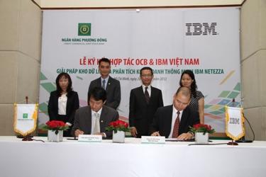 OCB – Ngân hàng đầu tiên triển khai toàn diện giải pháp Quản lý thông tin của IBM (1)