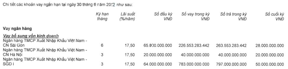 Nhìn lại KQKD của CK Rồng Việt, cổ đông lớn EIB cho vay ngắn hạn hàng nghìn tỷ đồng (2)