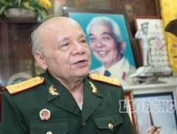 Đại tá Nguyễn Văn Huyên, thư ký Đại tướng Võ Nguyên Giáp