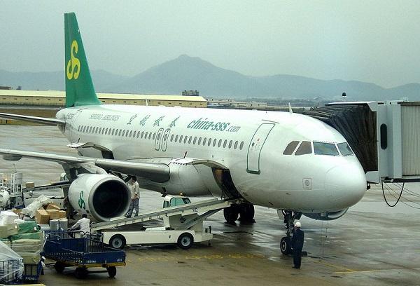 Nữ tiếp viên hàng không ăn mặc như người giúp việc để... câu khách (1)