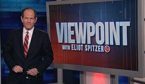 Nguyên Thống đốc bang New York - Eliot Spitzer sau vụ bê bối về câu lạc bộ mại dâm giờ đã hoàn lương và còn có một chương trình tivi của riêng ông