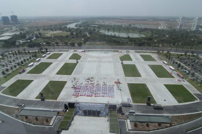 Ngắm trung tâm hành chính 1.400 tỷ, có bãi đáp trực thăng 7