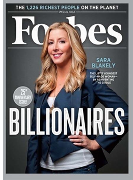 Sara Blakely: Nữ tỷ phú sẵn sàng thử đồ lót ngay tại cuộc họp (1)