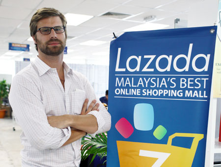Nhà sáng lập kiêm CEO Lazada Maximilian Bittner