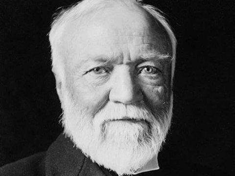 Ông 'Vua thép' huyền thoại Andrew Carnegie.