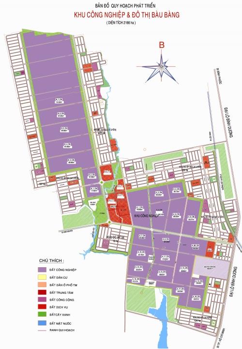 Khu Công nghiệp & Đô Thị Bàu Bàng (1)