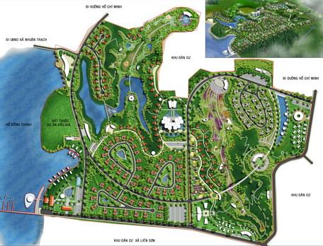 Dự án khu nhà ở cao cấp Dầu khí Hòa Bình (3)