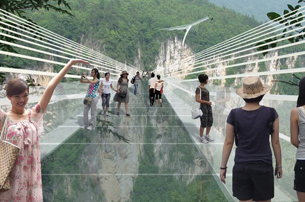 Chinas sky bridge